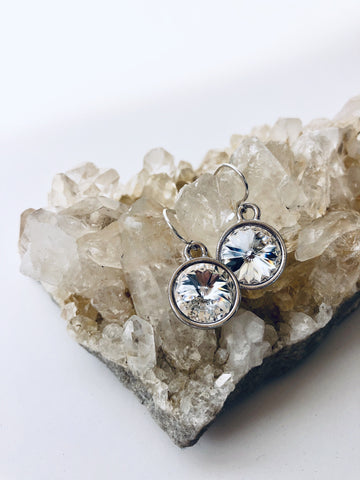 Silver Reflections Earrings