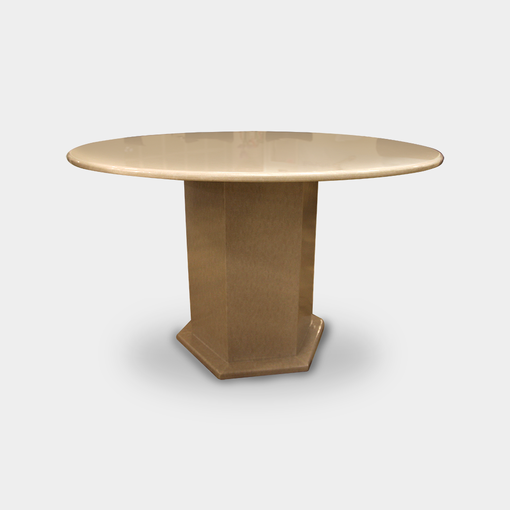 Prestige Marble Round Dining Table - Ulferts Furniture Vancouver