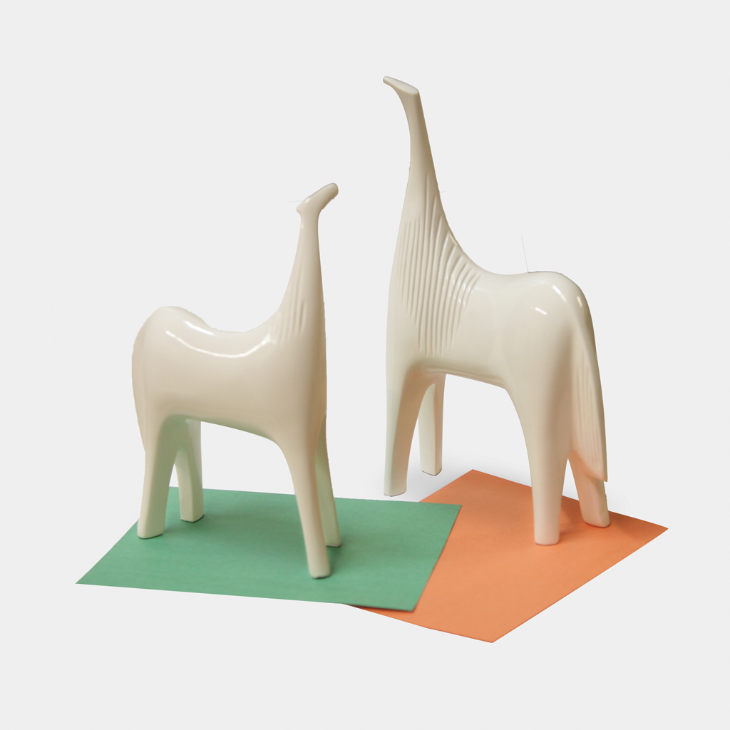 Porcelain White Stallion Set - Ulferts Furniture Vancouver  - 1