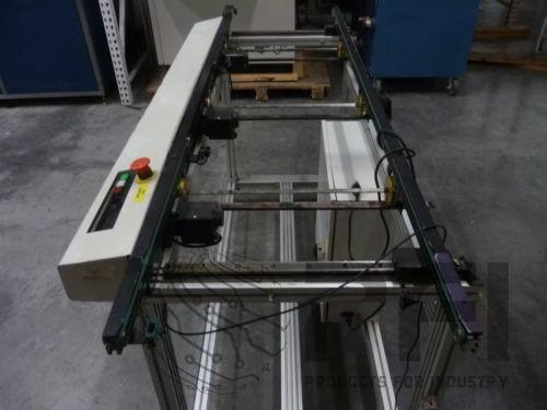 "Process Control Edge Belt Conveyor Model 3223 Interconnect Conveyor 72"" x 18"""