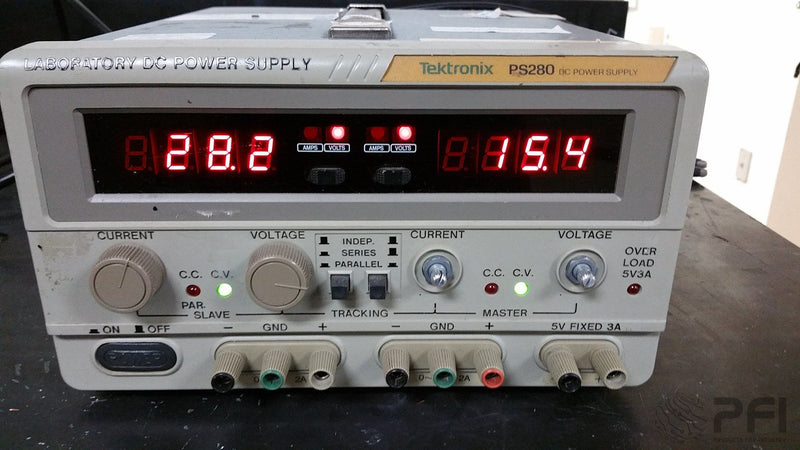 Tektronix PS280 3 output 5V 30V 60V DC power supply