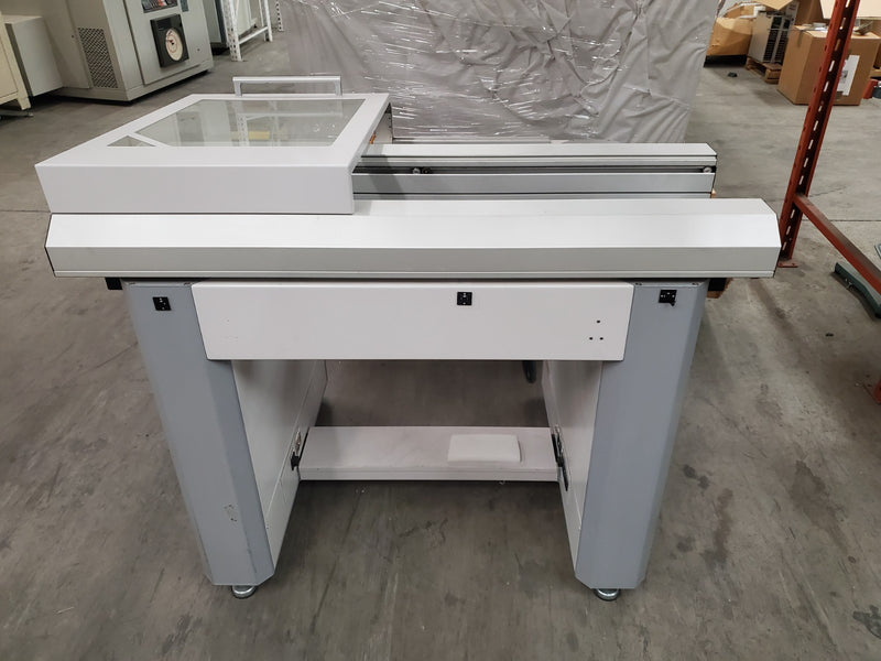 "MYDATA MYCRONIC Electrodesign Conveyor 47"" long, 2 stage"