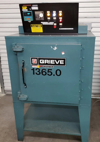"Grieve AA-500 12.5 Cu Ft Bake Oven Solvent Curing Oven 30 x 30 x 24"" # 330591"