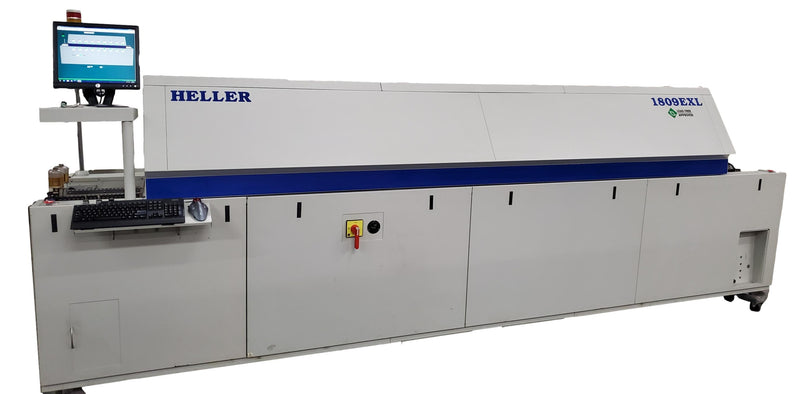 Heller Industries 1809EXL 9 Zone Lead Free reflow oven 480V
