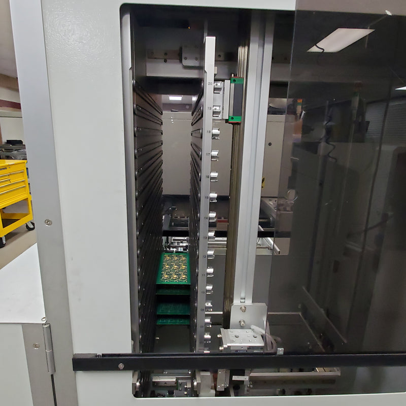 FLEXLINK F1200H FIFO / LIFO Vertical Buffer, 20 Board Capacity,