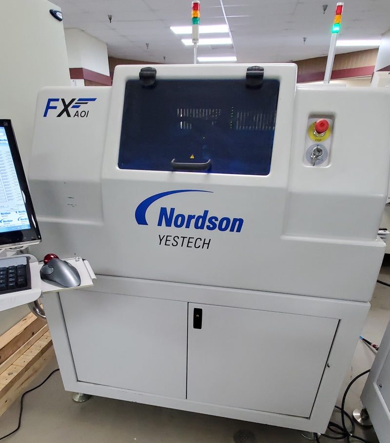 SOLD YESTECH Nordson YTV-FX 2012 Inline AOI, 5 Camera, Windows 7