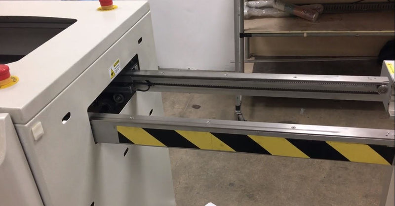 NUTEK NTM5210-M Telescopic Aisle / Shuttle gate conveyor 2011