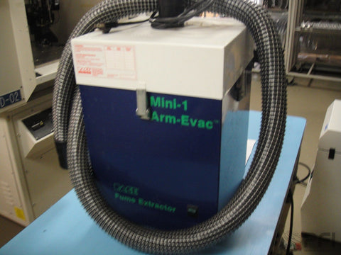 PACE ARM VAC MINI 1 Fume Extraction unit HEPA / Gas Filtration Air Purifying Fum