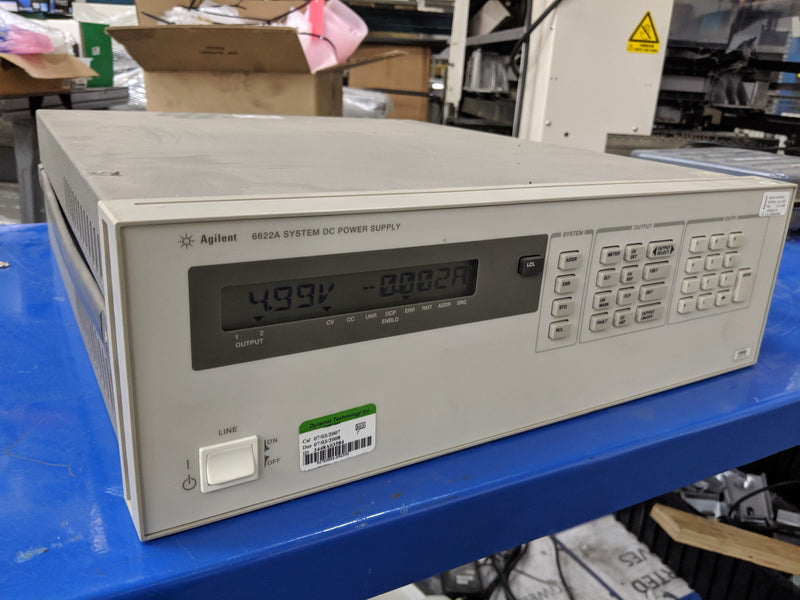 HP Agilent 6622A DC Power Supply 0-20V, 0-50V 2A