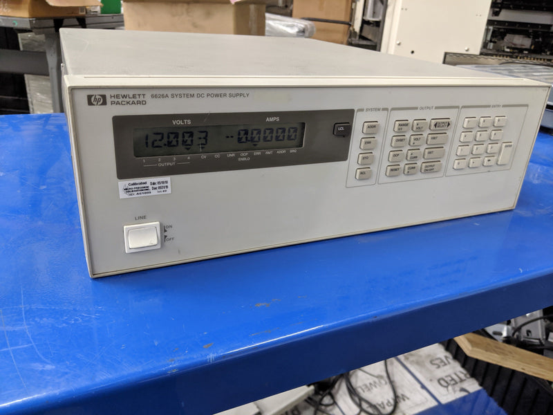 HP 6626A DC Power Supply