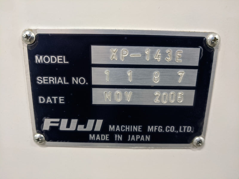 FUJI XP-143E Chip Shooter pick and place system