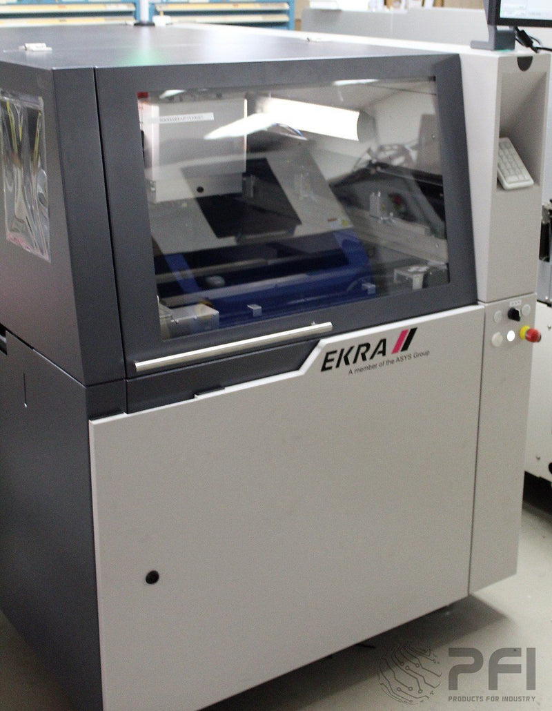 "EKRA XACT4 X4 2012 Automatic Screen Printer, 20x20"" board"