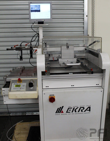 EKRA E1 Semi-Automatic SMT Stencil Screen Printer w/ Vision