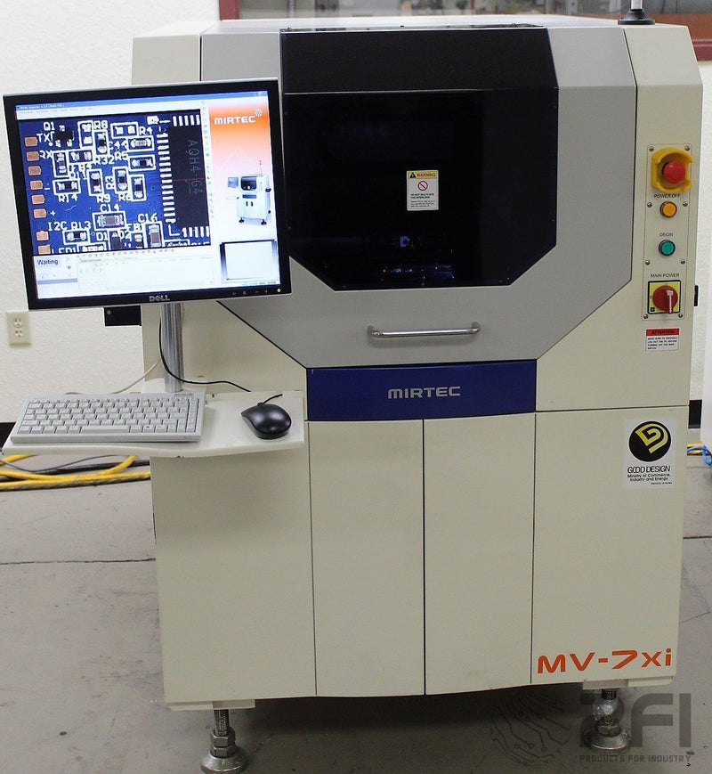Mirtec MV-7Xi In-line AOI machine, 5 Camera, 2008