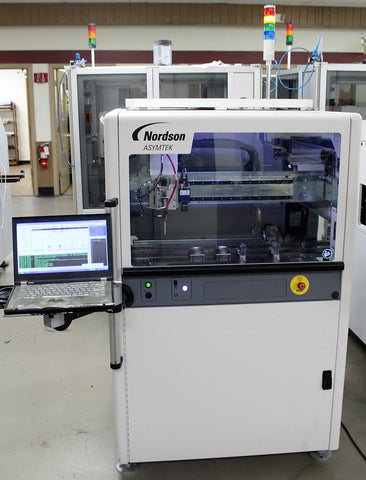 ASYMTEK Nordson SL-940E Conformal coating machine SE300, Genie Camera
