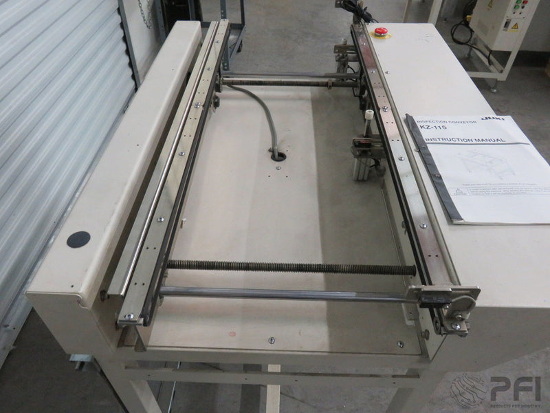 JUKI KZ-115 1M Transfer pass through Transfer Inspection conveyor cti