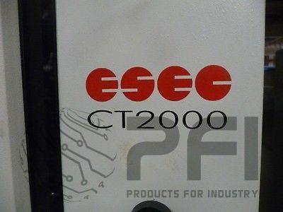 Package of 2 ESEC CT-2000 Pick and Place 6 axis cartesian assembly robots CT2000
