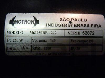 Motron 2200RPM series 52872 M610V1RB