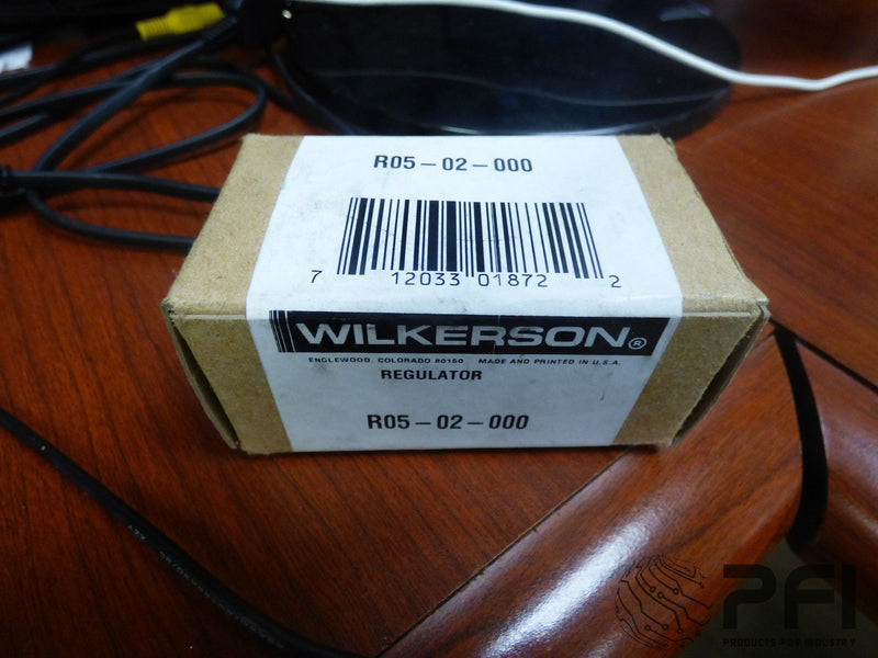WILKERSON R05-02-000 REGULATOR ~ QTY OF 1 ~ New in box