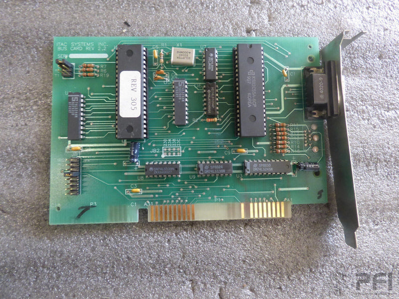 ITAC Systems Bus Memory Card Rev 2.2