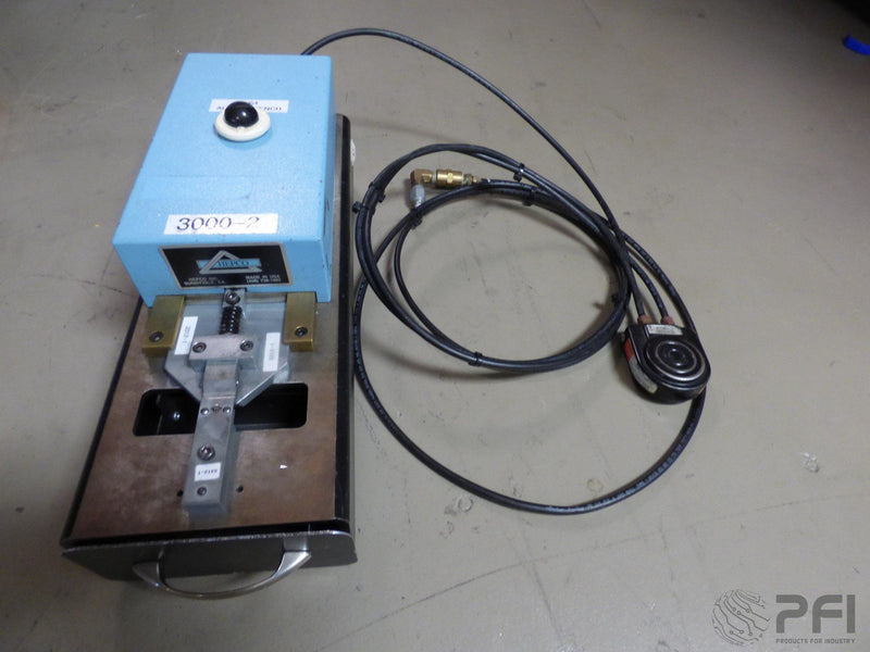 Hepco Radial form and cut machine model 3000-2 with dies