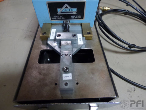 Hepco Radial form and cut machine model 3000-2 with dies #2614