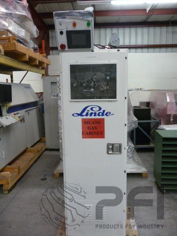 Linde LG5000 Gas Cabinet Two Bottle Silane Gas Cabinet LG 5000