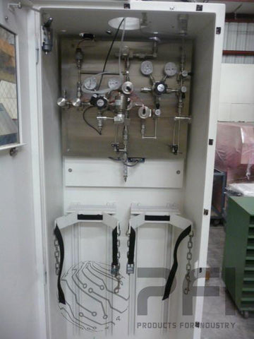 Linde Lg5000 Gas Cabinet Two Bottle Silane Gas Cabinet Lg