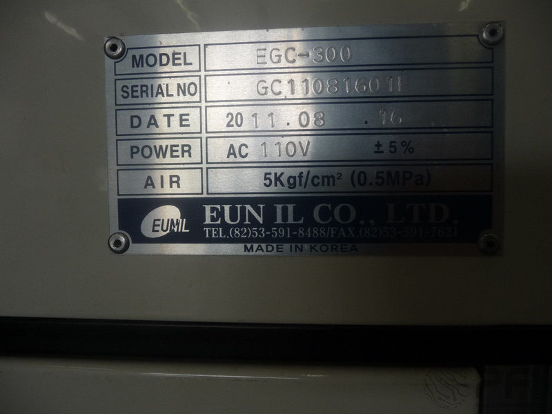 Eunil shuttle gate conveyor EGC-300 2006 600mm walkway