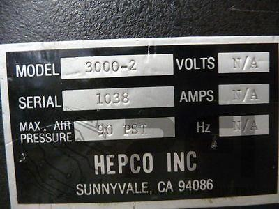 Hepco Radial form and cut machine model 3000-2