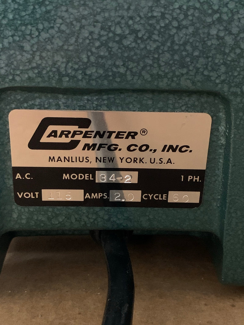CARPENTER MFG. CO. MODEL 34-2 WIRE STRIPPER/ TUBE CUTTER