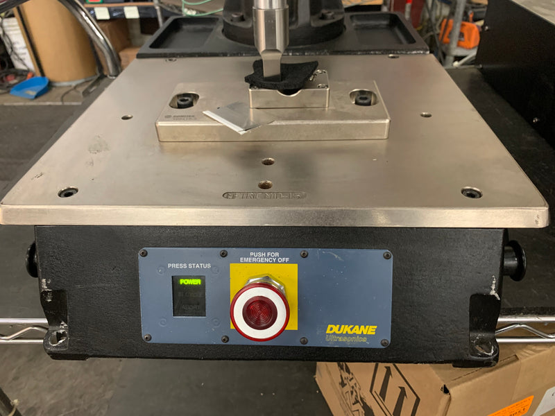 Dukane 410 Ultrasonic Welder Model w/ DPC IV 40KHZ