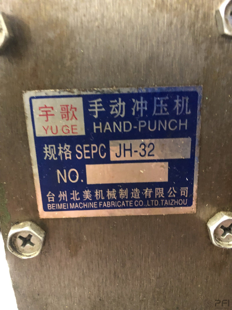 Hand Punch JH-32