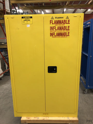 JustRite Sure Grip 45 Gallon Flammable Liquid Storage Cabinet Part# SC29452