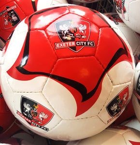 ECFC Red & White Football