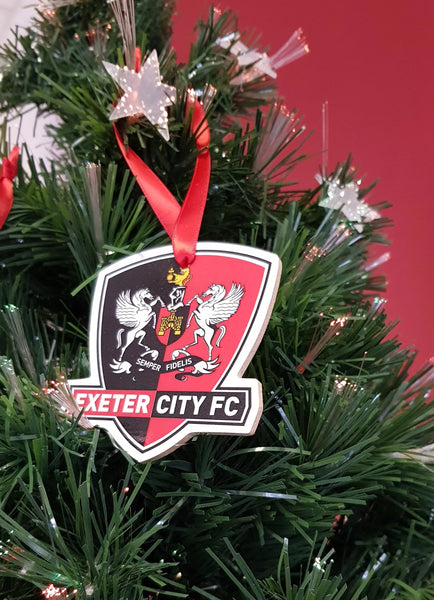 ECFC Wooden Christmas Decorations
