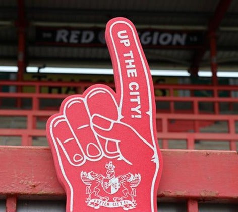 ECFC Foam Hands - Up The City