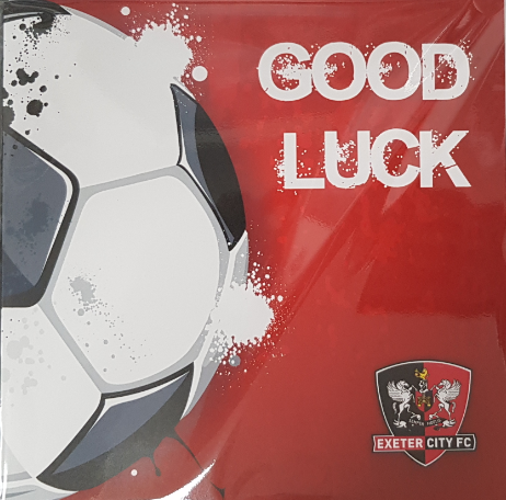 ECFC Good Luck Card