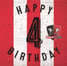ECFC Birthday Card - Age 1 to 12