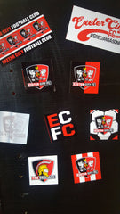 ECFC A4 Sticker Set