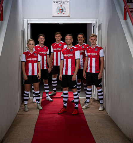 Exeter City FC Adult Home Shirt - 2020-21