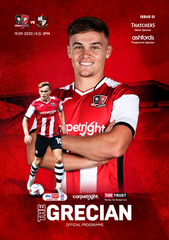 THE GRECIAN | MATCHDAY PROGRAMME 2020/21