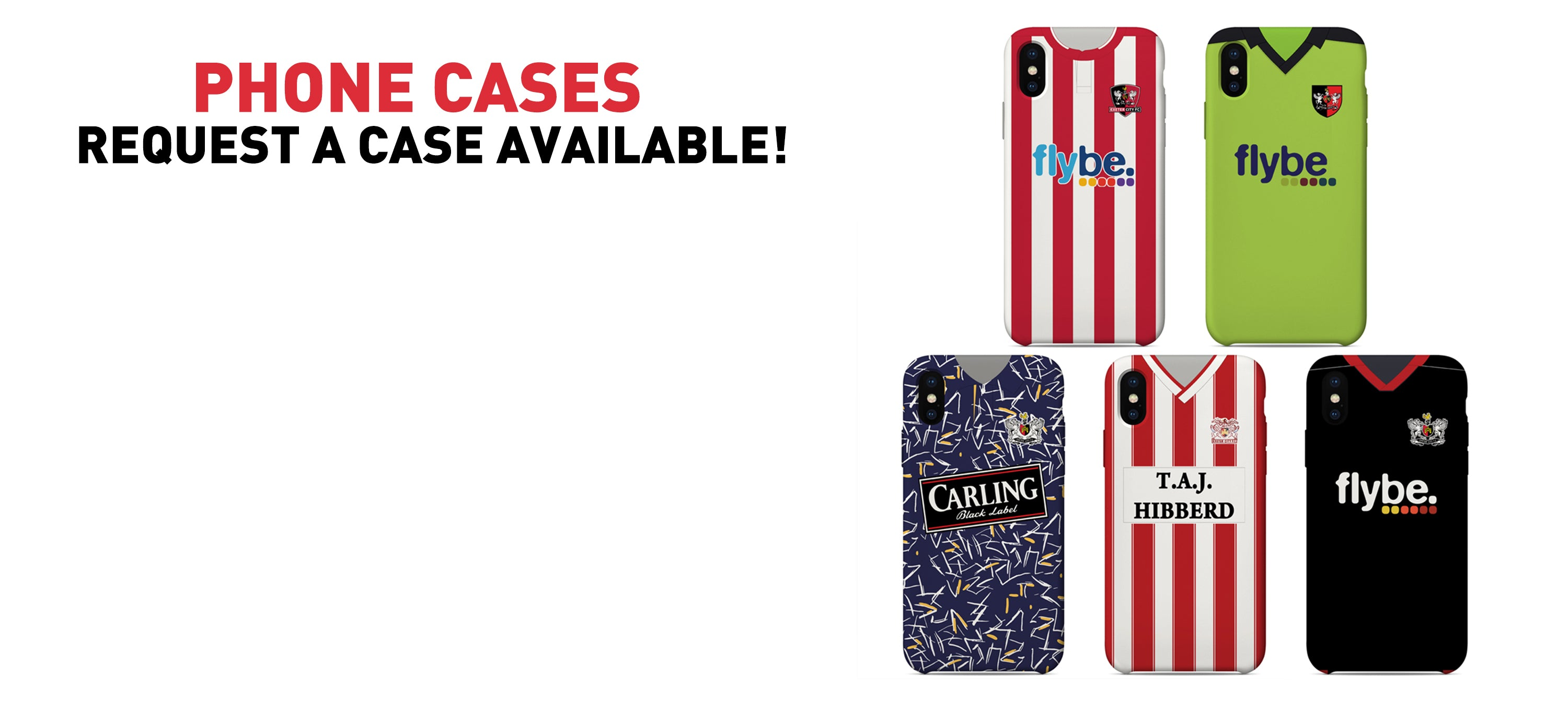 Officially licensed phone cases