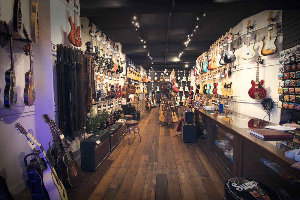 Lucky Fret Music Co Ground Floor Showroom