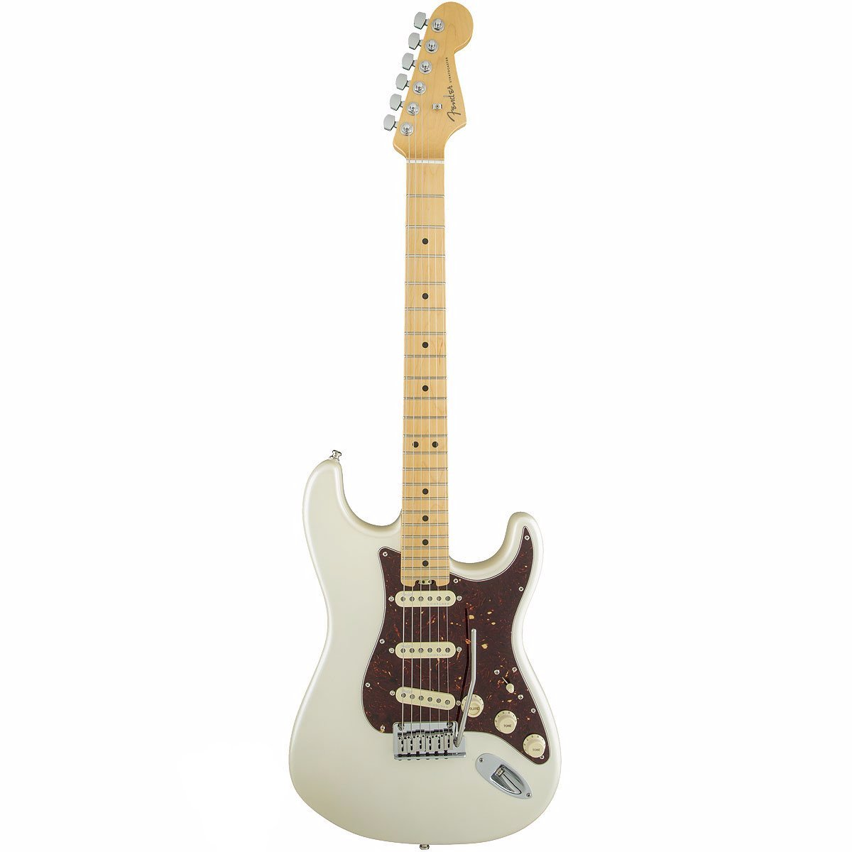 Fender American Elite Stratocaster, Maple, Olympic Pearl - Vintage Guitar Boutique - 2