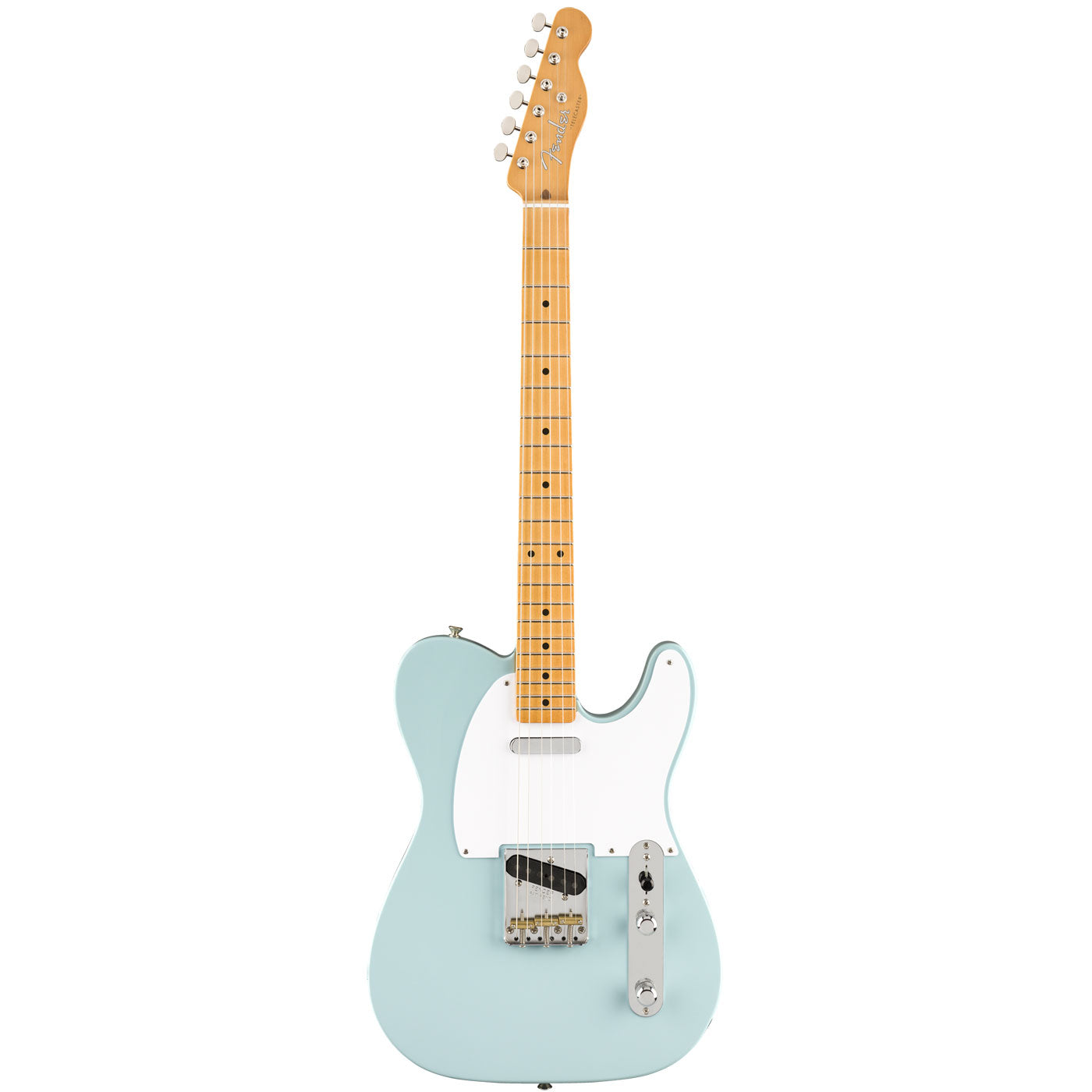 Fender Vintera '50s Telecaster, Maple Fingerboard, Sonic Blue Front | Lucky Fret Music Co.