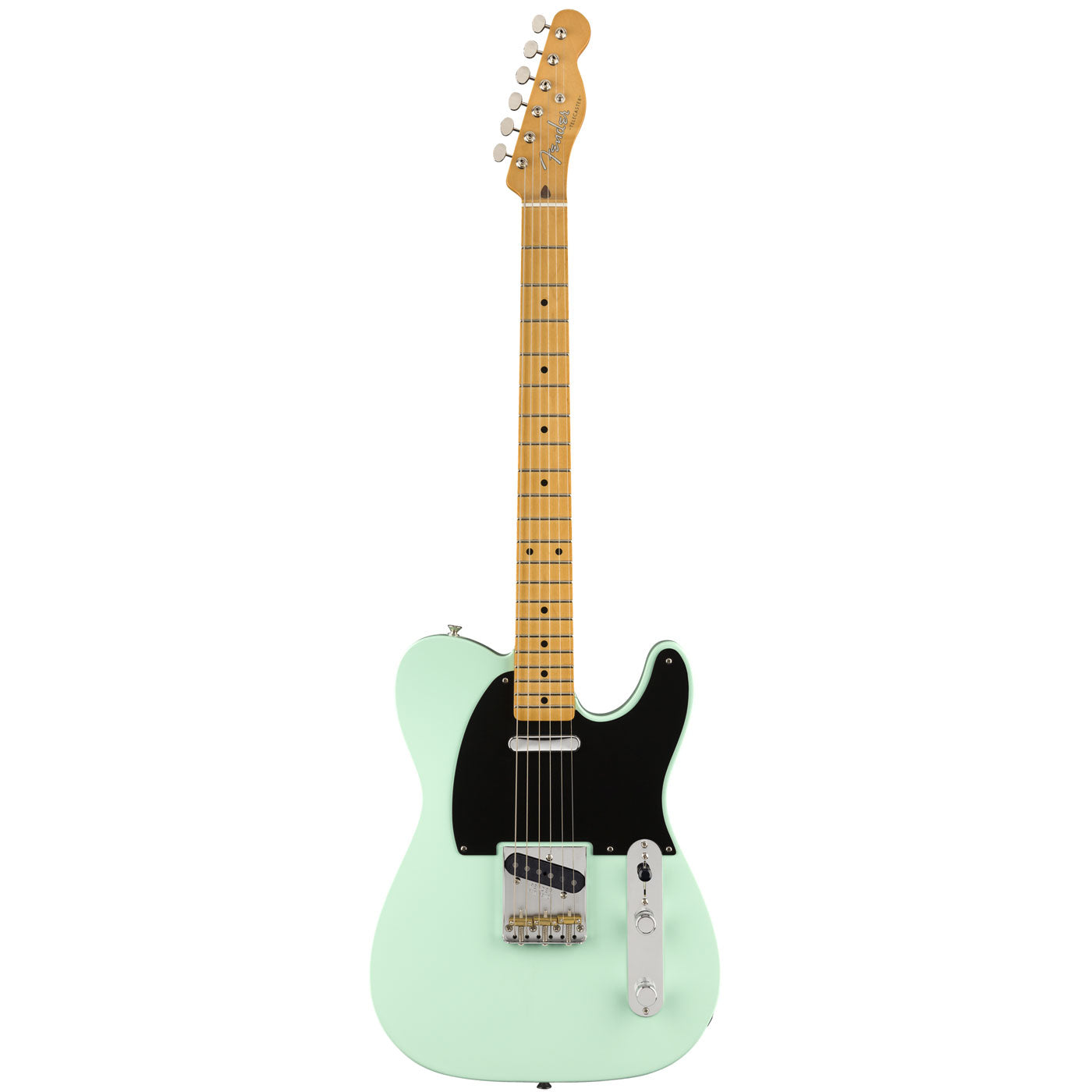 Fender Vintera '50s Telecaster Modified, Maple Fingerboard, Surf Green Front | Lucky Fret Music Co.