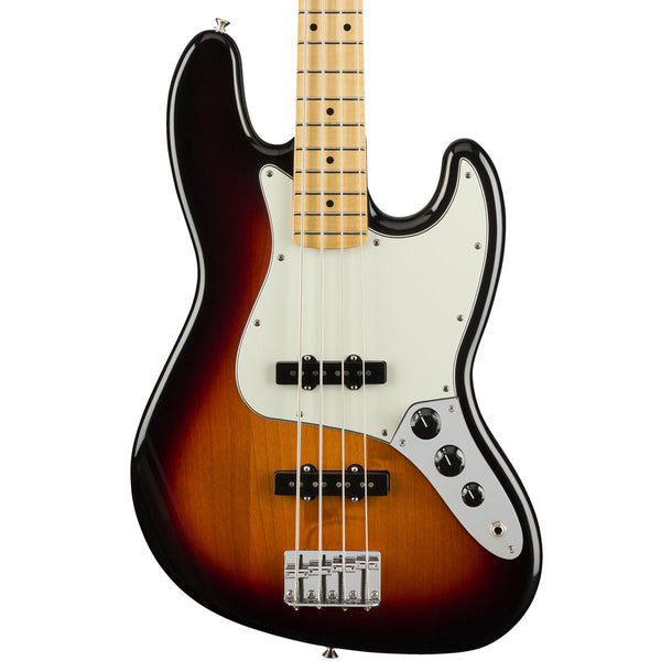 Fender Player Jazz Bass, Maple, 3-Color Sunburst