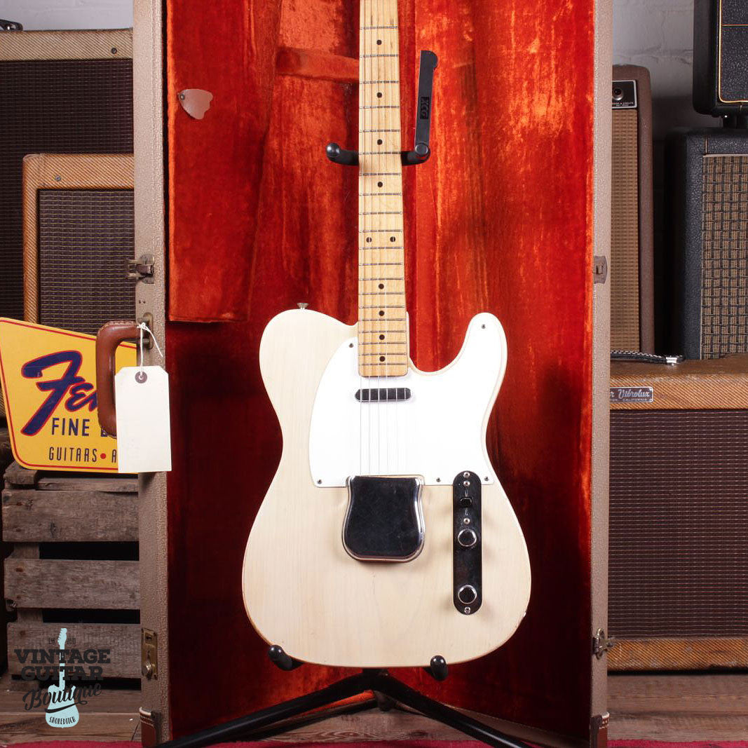 1957 Fender Telecaster - Blonde - Vintage Guitar Boutique - 3