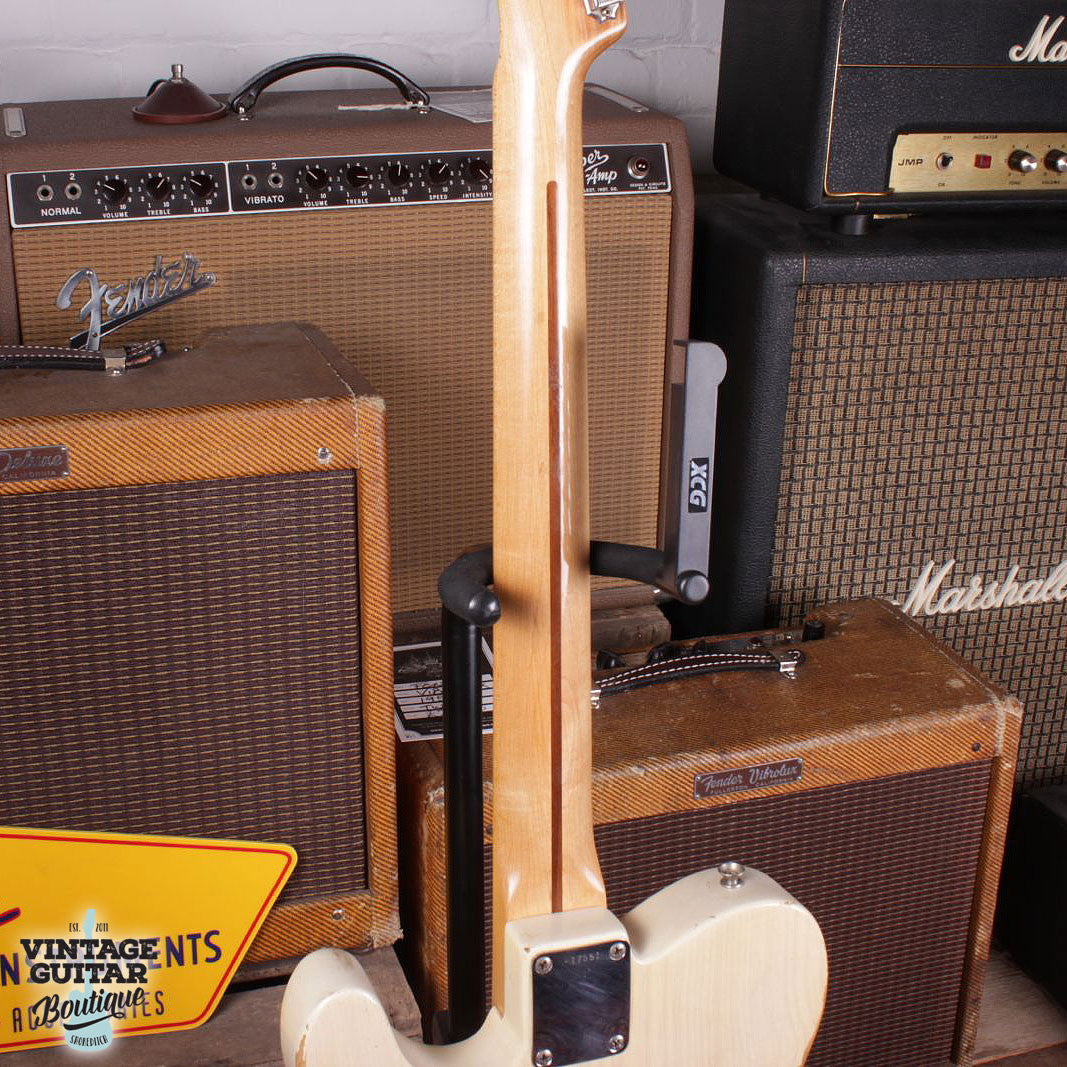1957 Fender Telecaster - Blonde - Vintage Guitar Boutique - 7